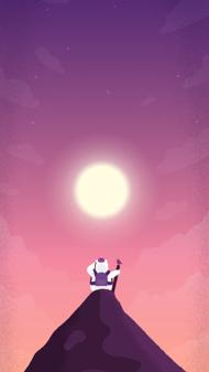Cosy Bear - iPhone Wallpaper