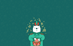 March-ing Bear - Mac Desktop Wallpaper