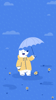 April Showers - iPhone Wallpaper